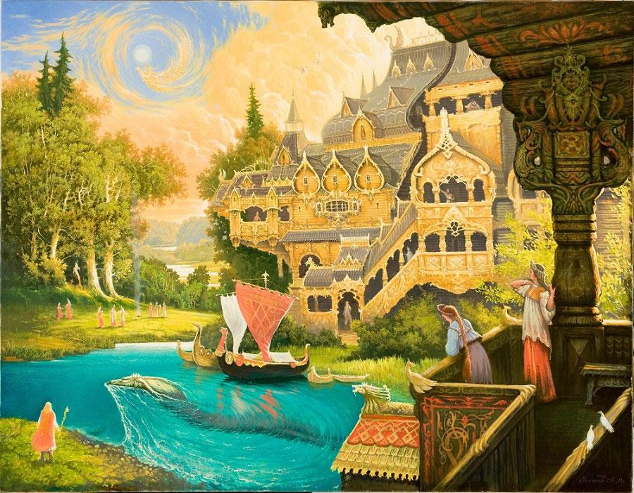Картины Угланова Александра Борисовича