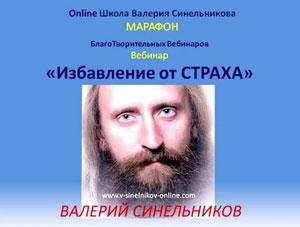 Валерий Синельников. Избавление от страха
