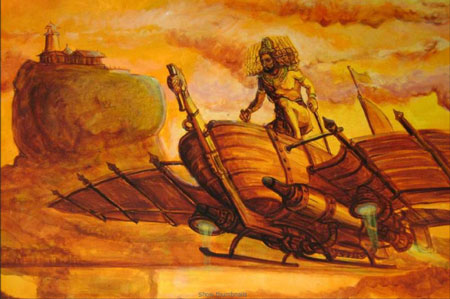 Вимана — древний летательный аппарат