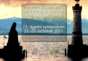 Пётр Гаряев. Беседа с Глен Рейн в Линдау. 23.10.2011