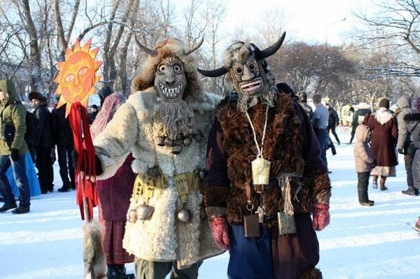 Славянский Праздник Коляда