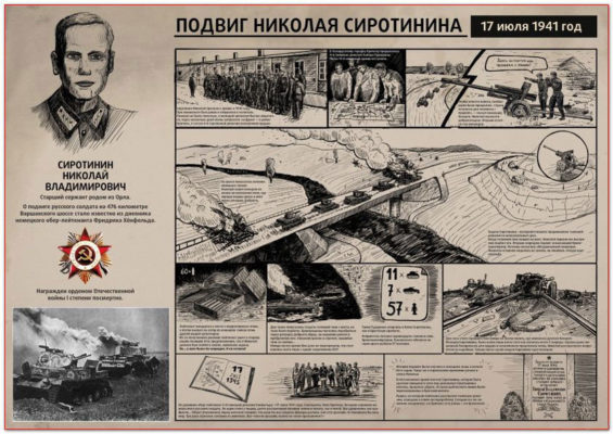 Подвиг Николая Сиротинина