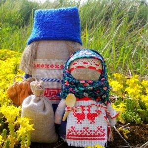 """Куклы-обереги """"Богач и Зерновушка"""""""