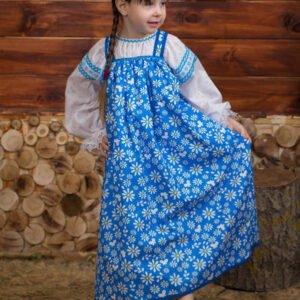 Детский костюм синий