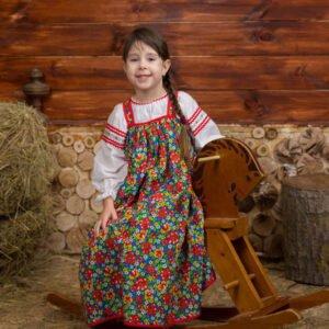 Детский костюм цветной
