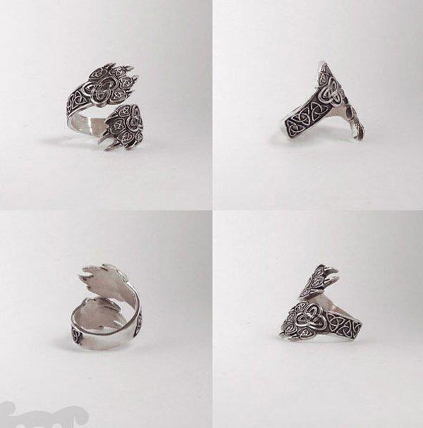 """Кольцо """"Волчьи лапы"""""""
