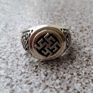 Перстень с обережным символом