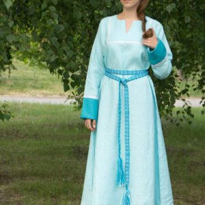 "Платье ""Хельга"" бирюзовое"