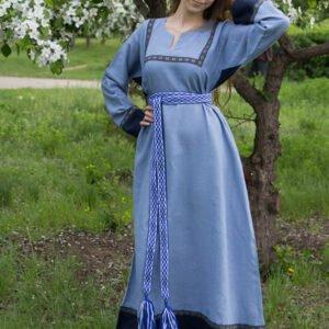 """Платье """"Хельга"""" синее"""