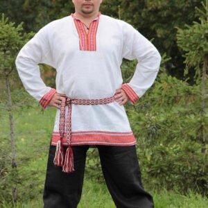 "Рубаха ""Этно"" белая"