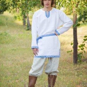 "Рубаха ""Одолень Трава"" белая"