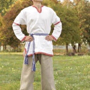 Рубаха в русском стиле белая
