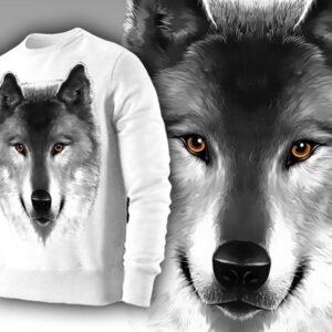 """Толстовка """"Волчица"""""""