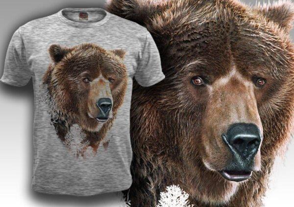 """Футболка """"Медведь"""""""