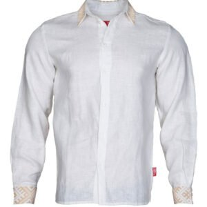"Рубашка ""Варяжская"" белая"