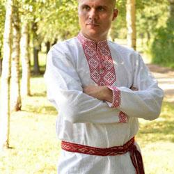 Русские, славянские рубахи
