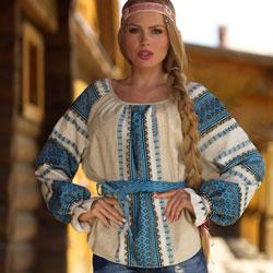 Славянские блузы