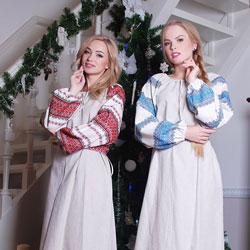 Славянские платья