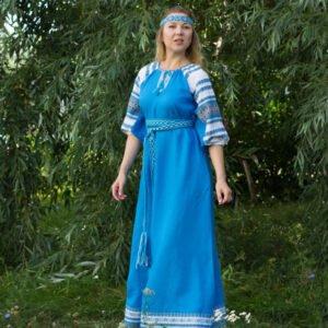 """Платье """"Лада"""" бирюзовое"""