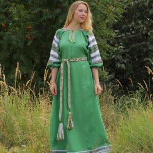 "Платье ""Лада"" зелёное"