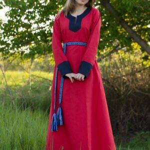 """Платье """"Варяжское"""" красно-синее"""