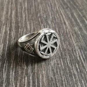 """Перстень """"Коловрат"""" на щите"""