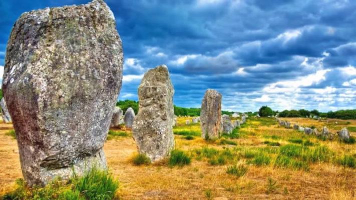 Карнакские камни. Франция