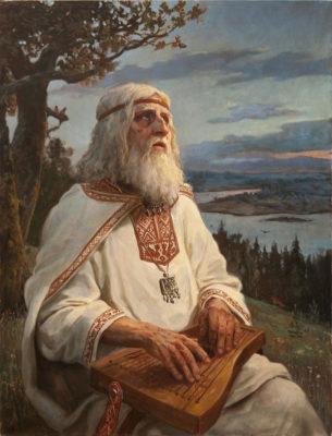 Боян Вещий - певец и сказитель