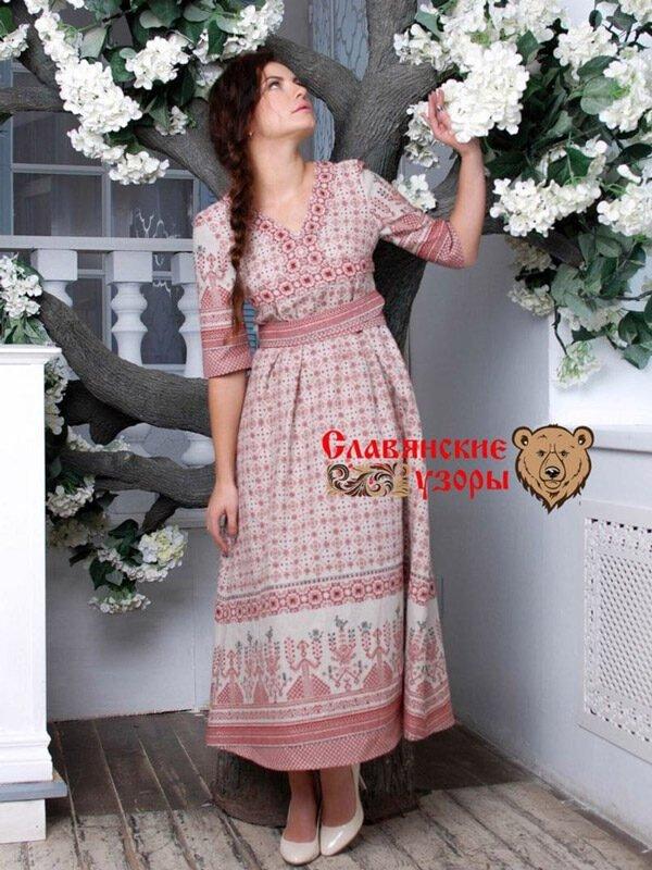 Платье Обережное