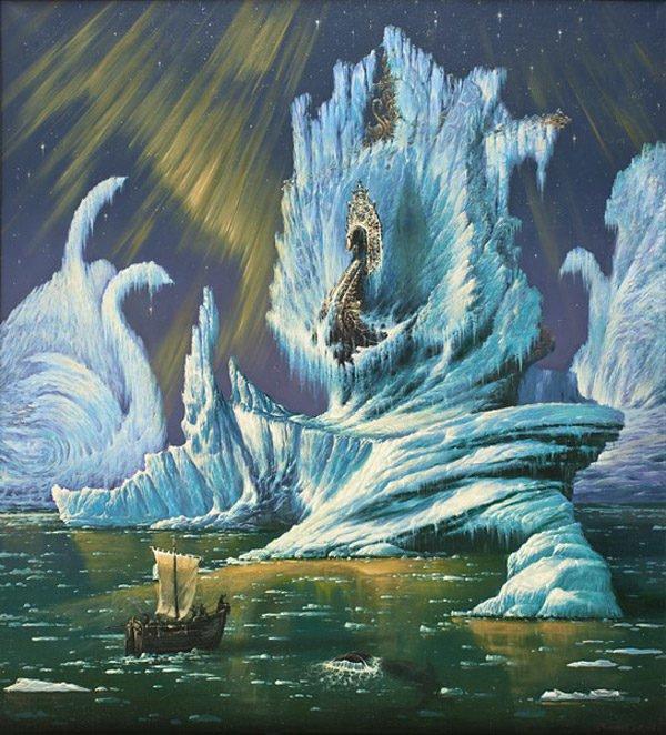 "Холст ""Таинственный студеный океан"""