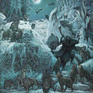 """Холст """"Волчий пастырь"""""""