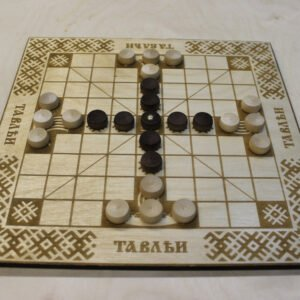 """Настольная игра """"Тавлеи"""" светлая доска"""